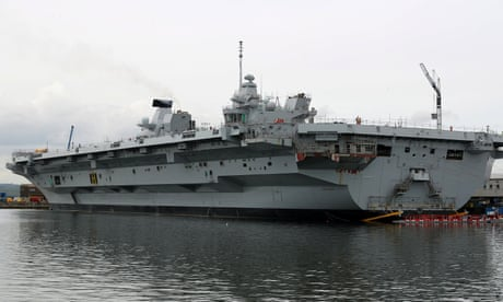 Britain's new aircraft carrier may be a vast folly — but it still