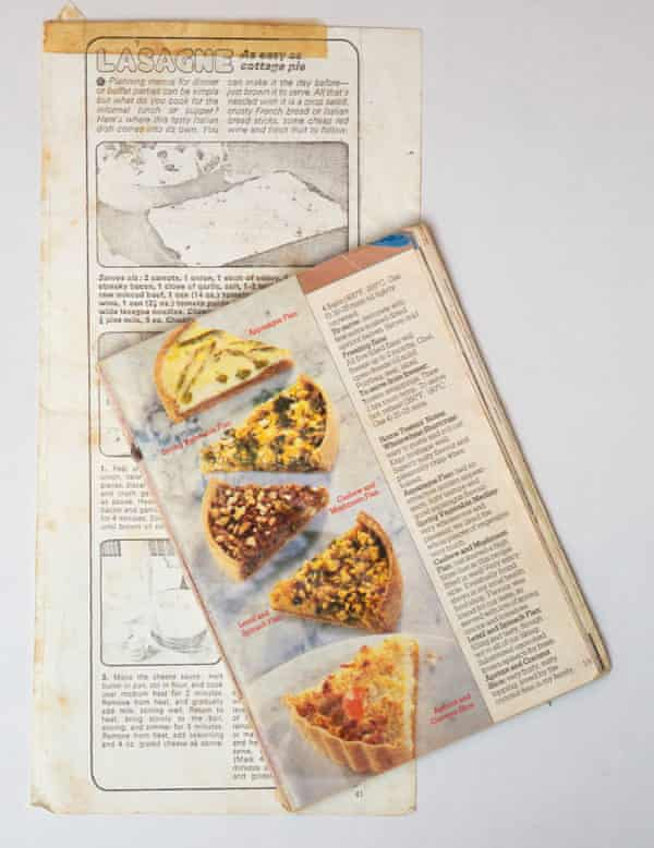 Part of Grandmother Vera's recipe collection.