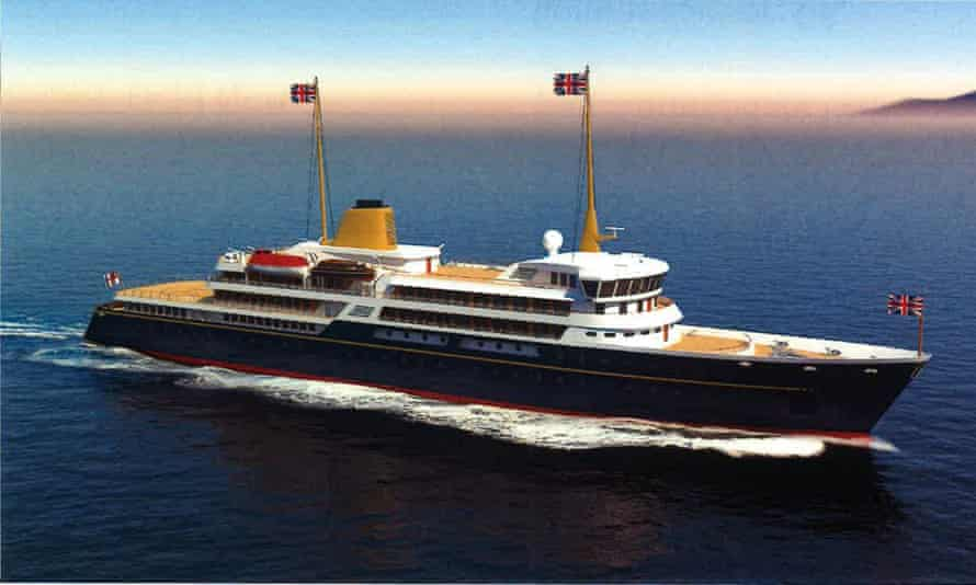 Artist's impression of the a proposed new national flagship released by No 10.