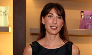 Samantha Cameron at the Rodeo Drive store launch of Smythson.