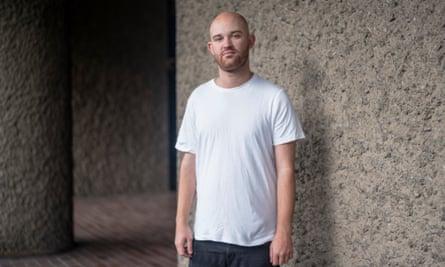 Sam Wolfson in The White T-Shirt Company's T-shirt.