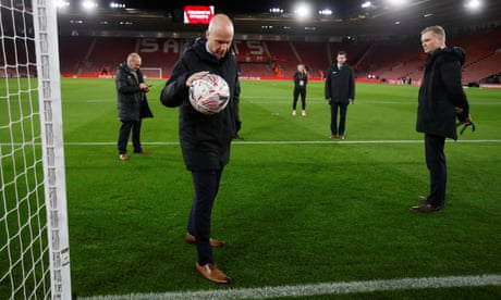 Southampton v Derby: FA Cup third-round replay – live!