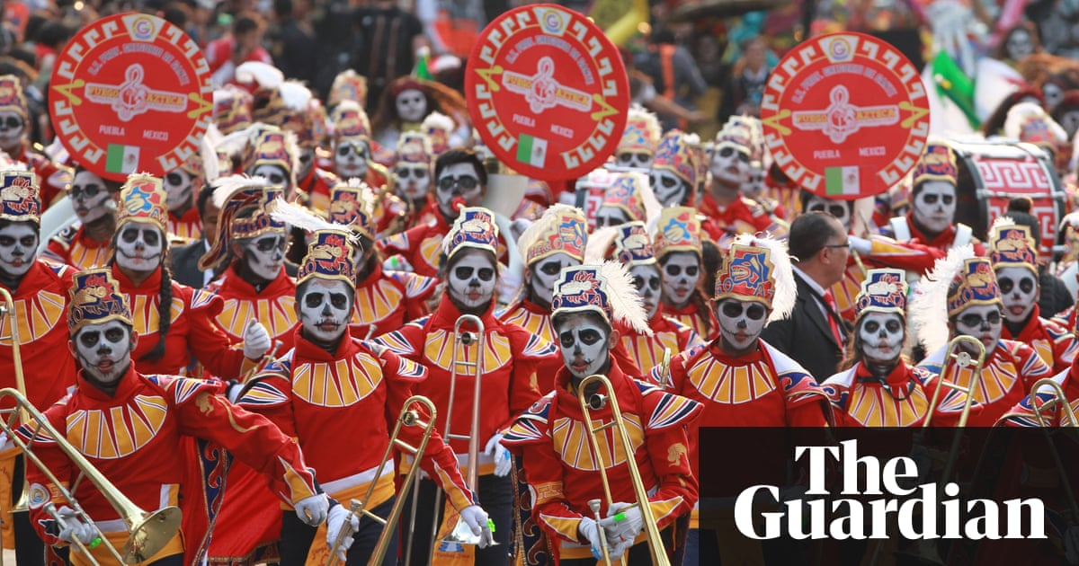 Mexico City S Day Of The Dead Parade In Pictures World