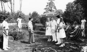 Tennis will continue ... The Garden of the Finzi-Continis.