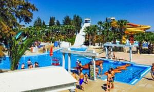 WaterWorld Waterpark. Ayia Napa, Cyprus