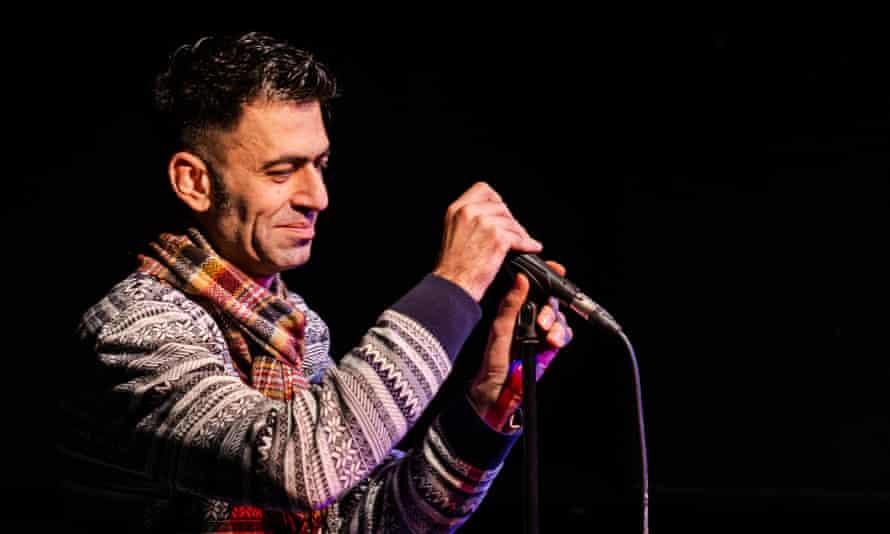 An expert line in hangdog humour … Usman Khalid