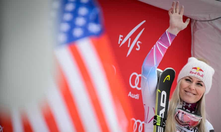 Some have questioned Vonn's patriotism after she was critical of Donald Trump