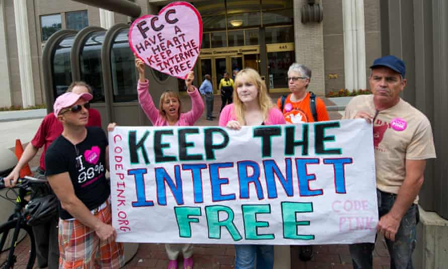 The announcement is likely to spark severe opposition from groups who want to keep the internet free and prevent big cable companies charging more for internet 'fast lanes'.