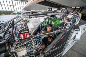 Preparing the Solar impulse 2