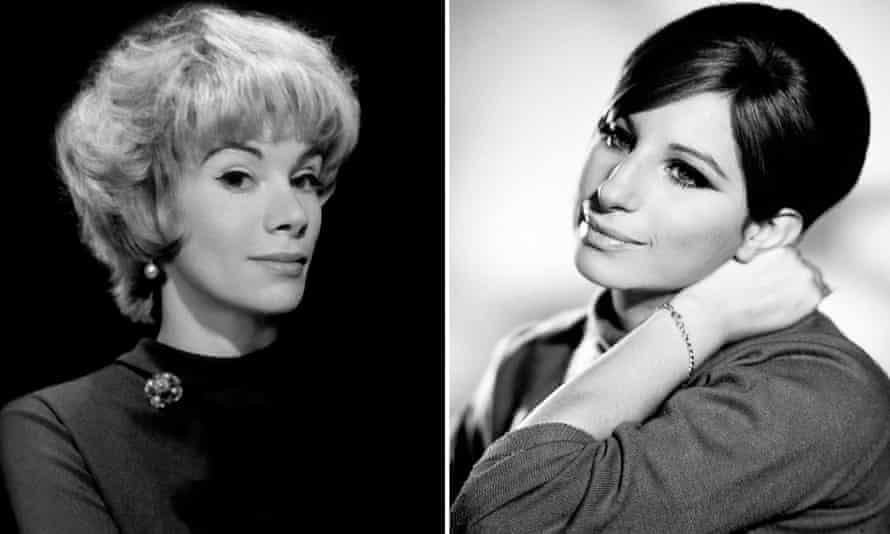 Joan Rivers and Barbra Streisand