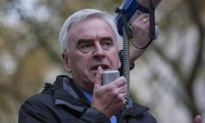 John McDonnell, the shadow chancellor.