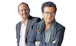 Philippe Sands and Hisham Matar