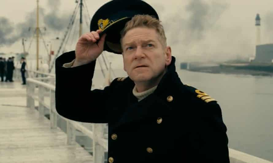 King of the setup … Kenneth Branagh.