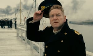 Kenneth Branagh's stoical naval commander in Dunkirk.