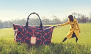The signature Orla Kiely print.