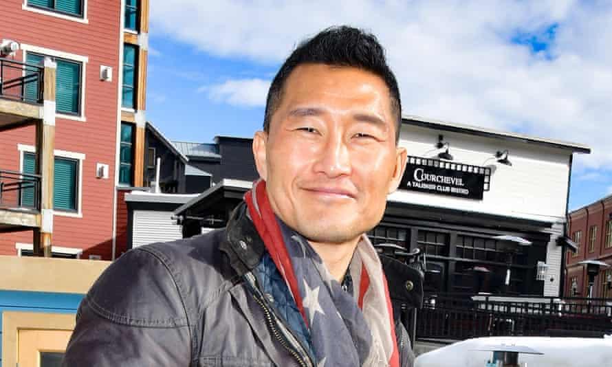American actor Daniel Dae Kim in January.