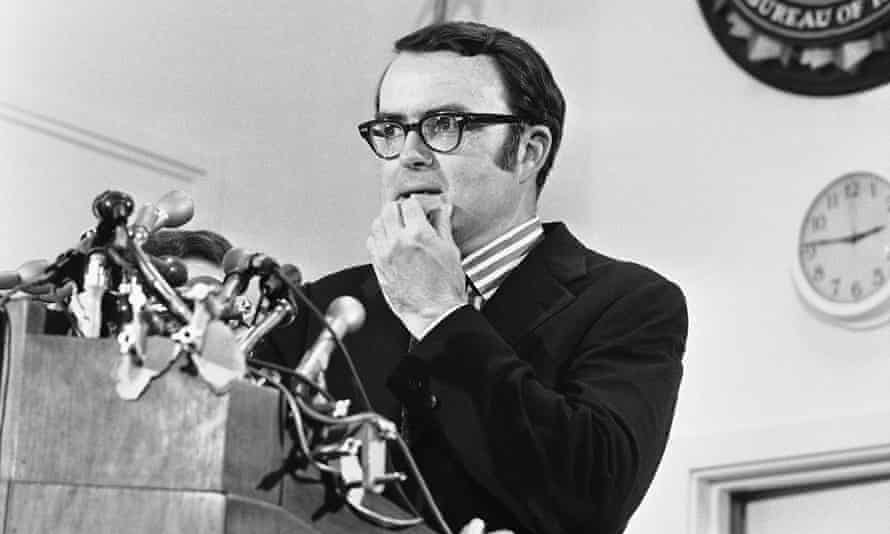 Ruckelshaus as acting FBI director in May 1973.