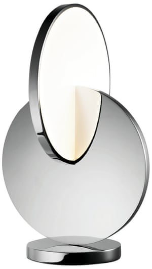 Eclipse table lamp, £1,150, by Lee Broom.