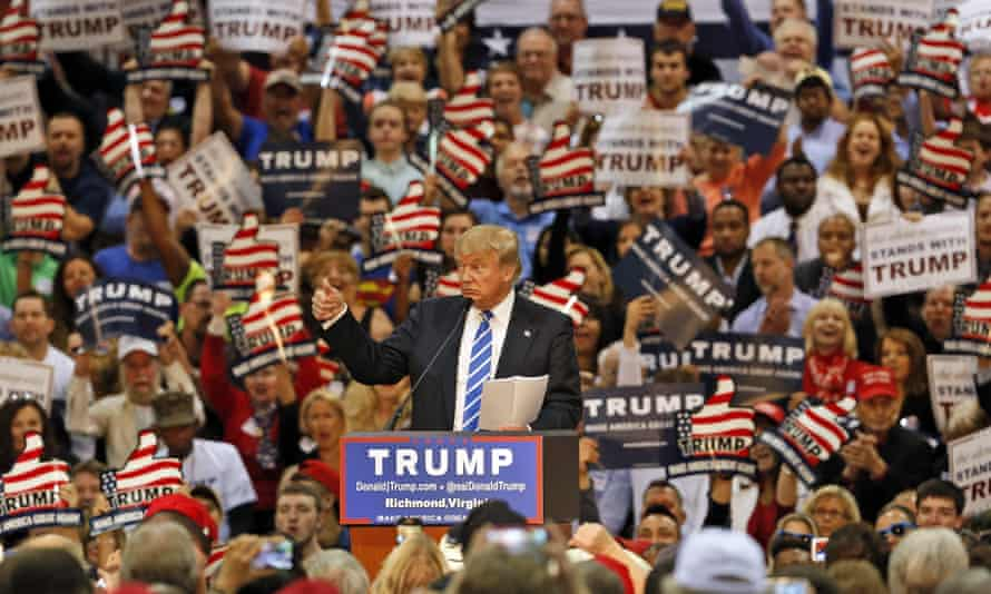 Trump's initial announcement set a precedent for speeches throughout his campaign and, eventually, his presidency.