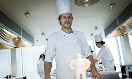 Rasmus Kofoed, chef at Danish restaurant Geranium,