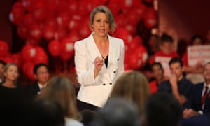 Labor candidate Kristina Keneally is stressing health and education in the Bennelong byelection.