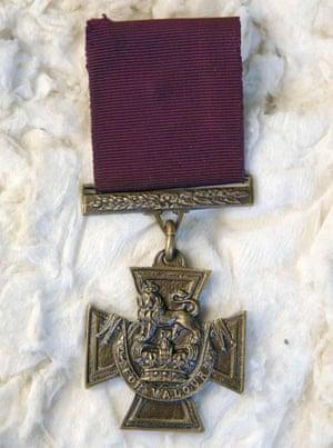 A Victoria Cross.