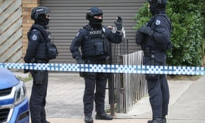 Police conduct a counter-terrorism raid in Melbourne in 2018