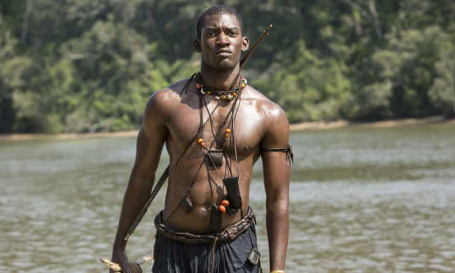 'I opened myself up far more than I was prepared for …' Malachi Kirby as Kunta Kinte in Roots.