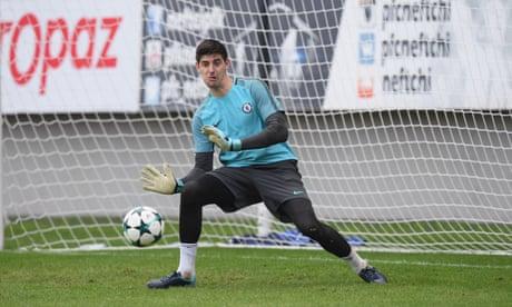 Thibaut Courtois Chelsea contract talks on hold amid Spanish interest