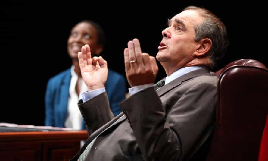 Edward Gero plays Antonin Scalia in The Originalist.