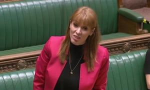 Angela Rayner responds to chair in House of Commons