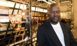 David Adjaye at the opening of the Aishti Foundation Museum of Modern Art.