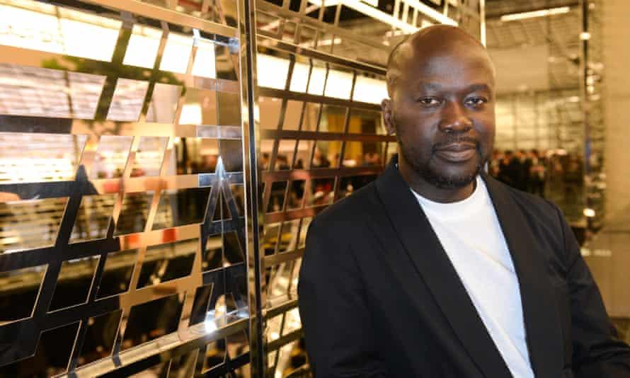 David Adjaye at the opening of the Aishti Foundation Museum of Modern Art.