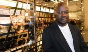 David Adjaye, architect of Britain's planned Holocaust museum in London.
