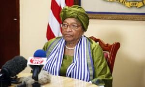 Current president Ellen Johnson Sirleaf.