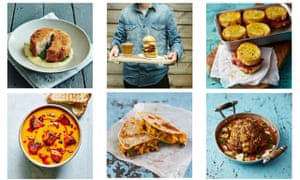 Some of Miguel Barclay's one pound meals.