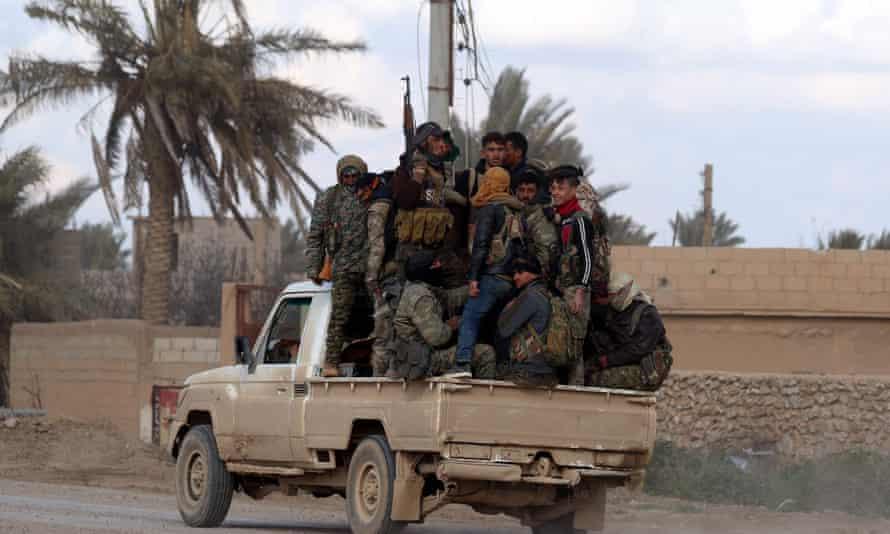 Syrian Democratic Forces.