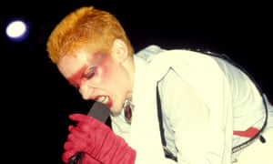 'It's not a happy song' ... Eurythmics performing at the Palace in Hollywood in 1983.