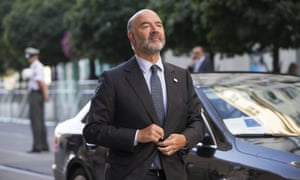 Pierre Moscovici, European Commissioner for Economic Affairs, Taxation and Customs