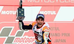 Repsol Honda Team's Marc Marquez