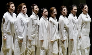 Fascinating blend of styles … Trojan Women, directed by Ong Keng Sen.