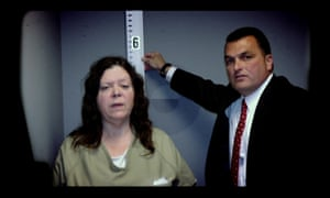 Marjorie Diehl-Armstrong and the FBI's Jerry Clark.