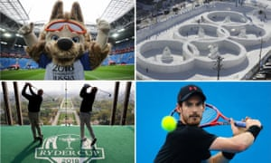 The World Cup takes place in Russia, the Winter Olympics are held in Pyeongchang, Andy Murray makes his return and the Ryder Cup will be played in France.