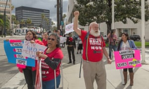 The LA Tenants Union has helped organize rent strikes across the city over the past year.