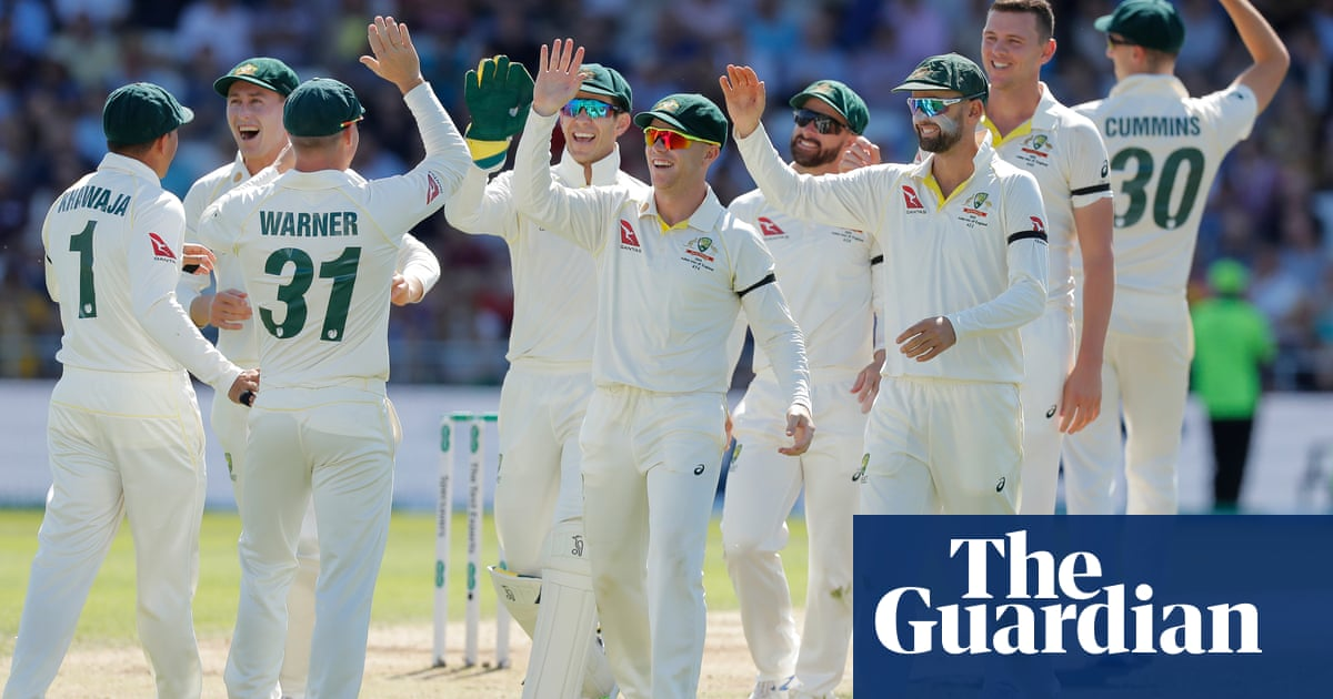 England's Ashes hopes fade as Australia turn screw on Joe Root's day of despair