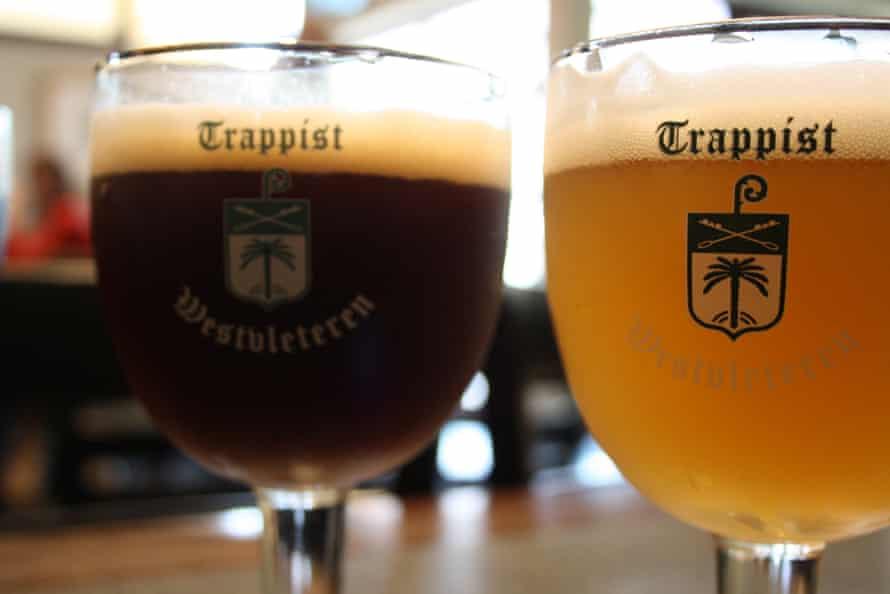Belgian Westvletern Trappist Beer.