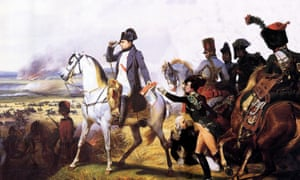 Napoleon at Wagram, painted by Horace Vernet.