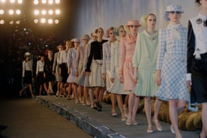 Chanel suits, as featured in Chanel's Spring/Summer 2001 show
