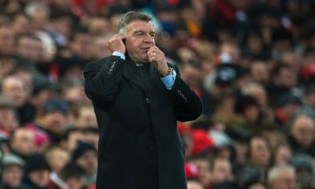 Sam Allardyce cancels Christmas party because of Everton's festive demands