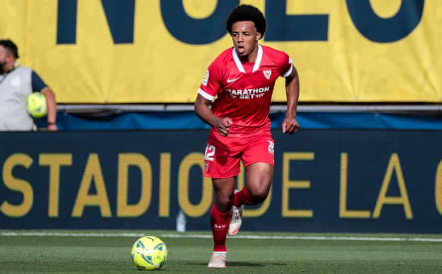 Jules Koundé joined Sevilla from Bordeaux in 2019.